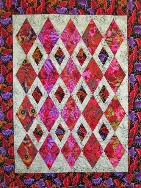 1000 ideas about diamond quilt on pinterest quilting