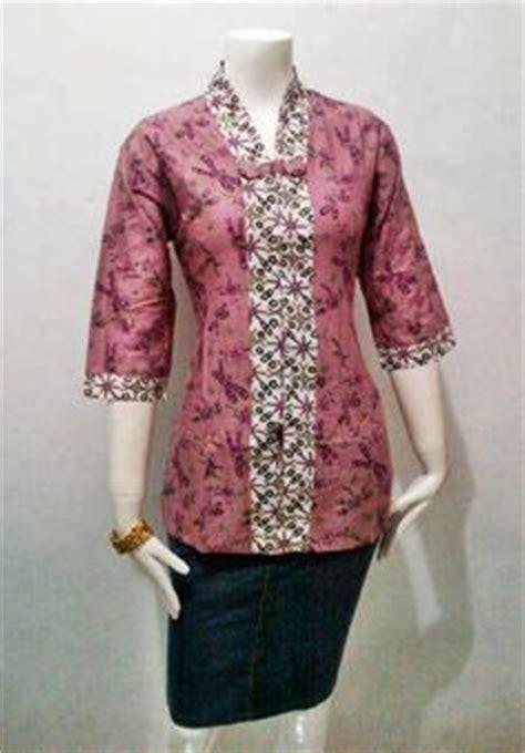 Kopu Top Blouse Atasan Kantor Batik design blouse kantor blouse with