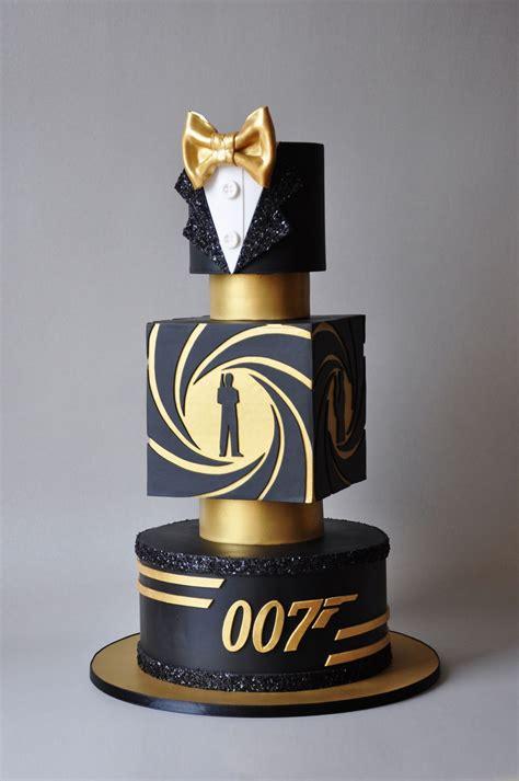 Bond. James Bond.   CakeCentral.com