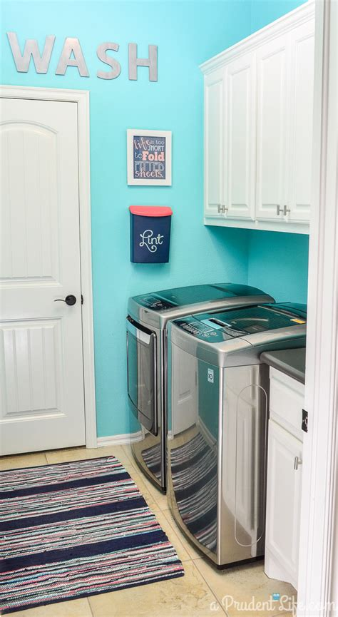 Fresh Blue Laundry Room 94 In Tiny Home Ideas With Blue Blue Laundry