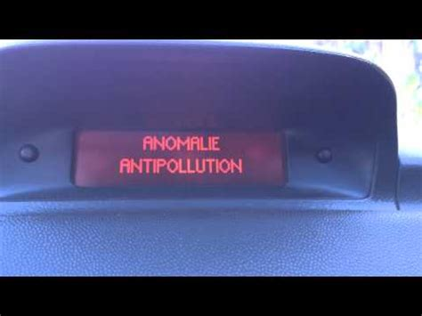 anti pollution fault peugeot 307 hdi peugeot 307 antipollution faulty doovi