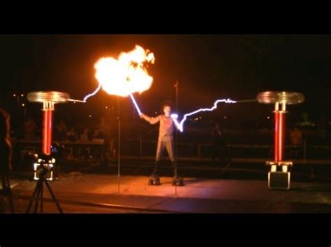tesla master of lighting the masters of lightning and their singing tesla coils