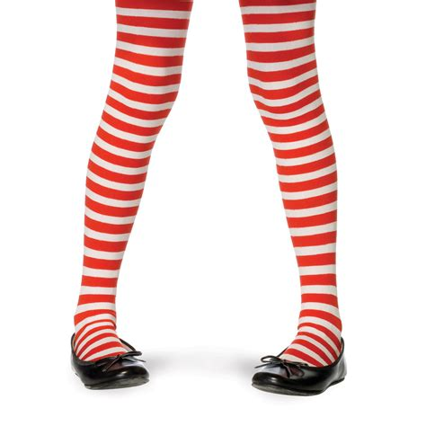 Stripe Tights and white striped tights the sock