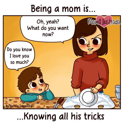 imagenes i love you so much mom illustrates her everyday motherhood problems bored panda