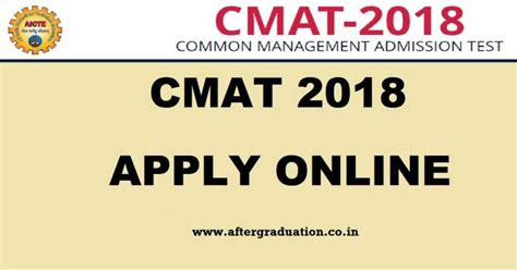 Mba Admission Process Through Cmat by Cmat 2018 Mba Entrance On January 20 Application