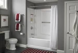 install a tub surround or shower surround the color