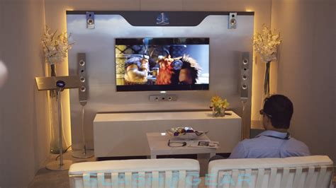 samsung s 3d surround sound demoed slashgear