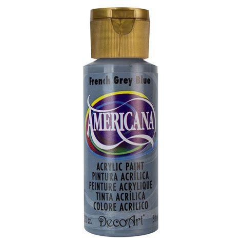acrylic paint grey decoart americana 2 oz blue grey acrylic paint