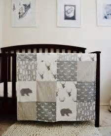 Woodland Nursery Bedding Set The World S Catalog Of Ideas