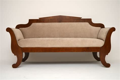 antiques sofas antique swedish biedermeier satinbirch sofa antiques atlas
