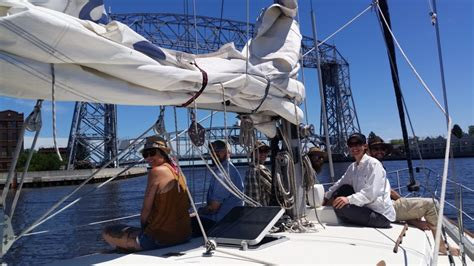 duluth boat cruise duluth sailing charters lake superior sailboat trips