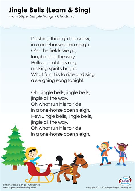 testo canzone jingle bell rock best photos of jingle bells words jingle bells lyrics