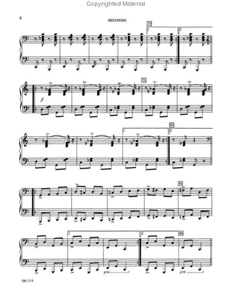 themes and variations exles c s theme and variations sheet music by randall compton