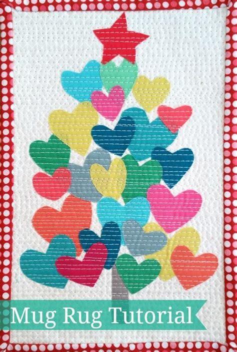 christmas tree mug rug pattern free sewing pattern christmas tree mug rug i sew free