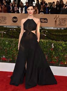 2016 screen actors guild awards red carpet a high fashion jessica pare 2016 sag awards in los angeles