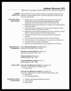 Sample Resume For Registered Nurse With Experience sample resume for nurses without experience x