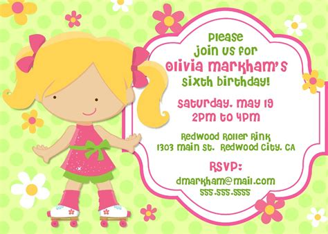 Child Birthday Party Invitation Templates Cloudinvitation Com Printable Birthday Templates