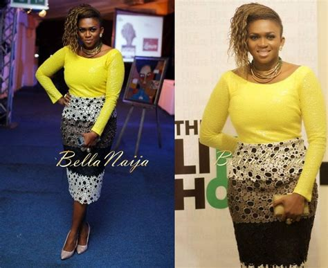 naija 2014 latest style waje sizzles in sequin lace dress by dzyn at woman