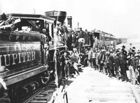 On This Day The First Transcontinental Railroad In