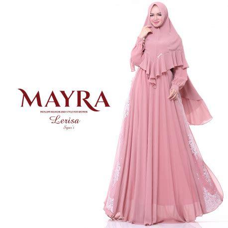 Mayra Naima Syari Kemeja Basju Muslim Busana gamis syari lerisa syar i by mayra pusat busana gaun pesta muslim modern