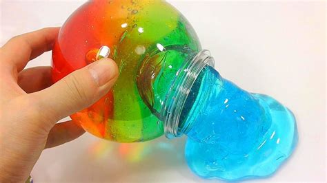 how to make colored diy color changing slime make some color changing slime