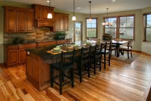 Kitchens With Cherry Cabinets And Wood Floors Kitchen With Cherry Cabinets And Hickory Floors Kitchen Ideas Cherry Cabinets