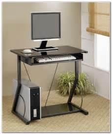 Small Computer Desk With Keyboard Tray Computer Desk With Keyboard Tray