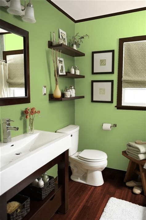 green and brown bathroom what s your color personality