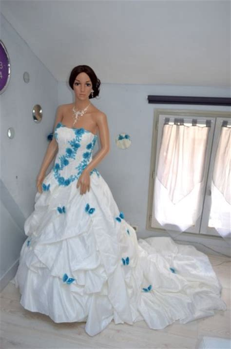 Robe De Mariée Bleu Turquoise Et Ivoire - la mode des robes de robe bleu turquoise et blanc