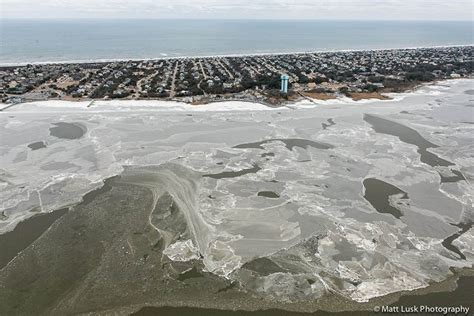 Winter Outer quot aerial of winter on the outer banks quot photos matt