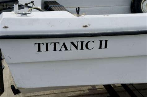 veranda yacht año nuevo gente ociosa compra un barco llamado titanic ii y se le hunde