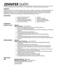 Analytical Chemist Cover Letter by Analytical Chemist Resume Exle Free Resume Templates