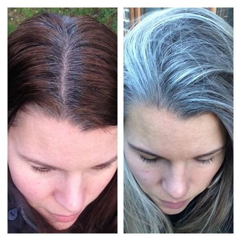 how to transition to gray hair from dyed 43 best gray hair transition images on pinterest