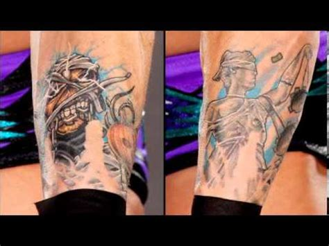 wwe tattoo the 20 coolest tattoos in history