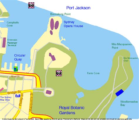 Sydney Botanic Gardens Map Travels With Royal Botanic Gardens Sydney