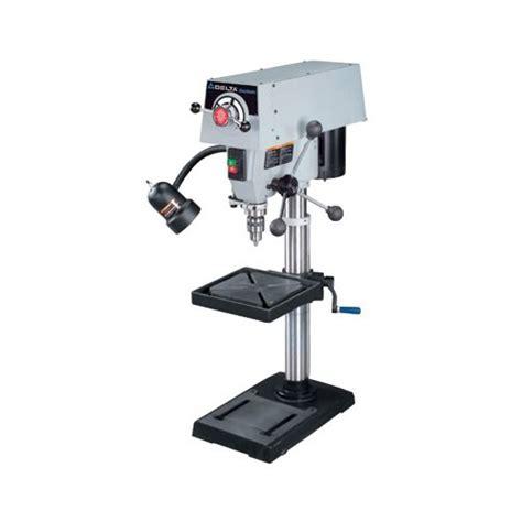 variable speed bench drill press delta machinery 12 variable speed bench drill presses