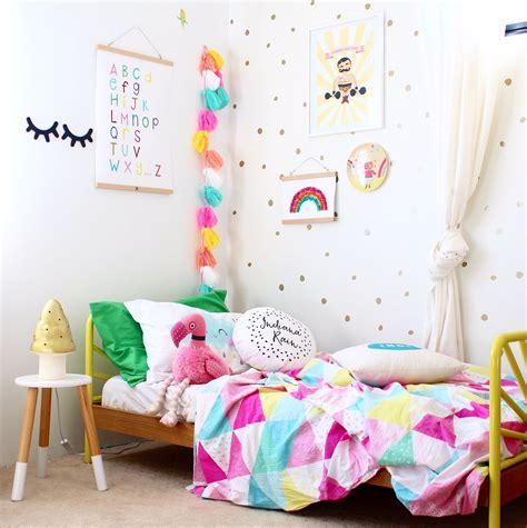 rainbow alphabet chart girls bedroom ideas kids
