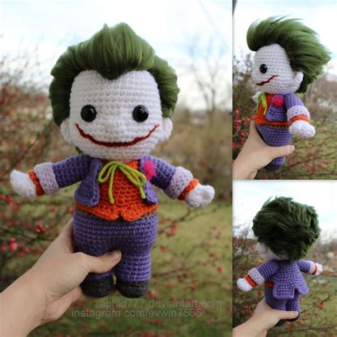 amigurumi joker pattern 1000 images about friki power on pinterest free