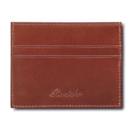 pineider power elegance leather business pineider power elegance leather flat business and credit card holder
