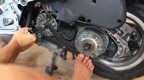 vespa cvt parts removal youtube