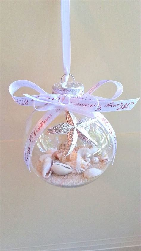 merry christmas seashell ornament non breakable ornament