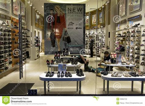 lighting and l stores near shoe store editorial photography image of shoe interior