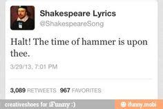 Shakespeare Lyrics Meme - shakespeare lyrics ifunny demotivational pinterest