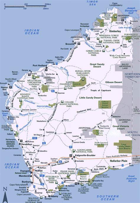 wa map wisconsin in perth exmouth wa