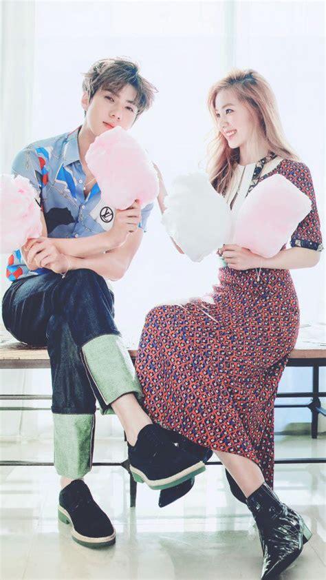 January 2017 Korean Magazine Majalah Korea sehun exo irene velvet til mesra di majalah ceci