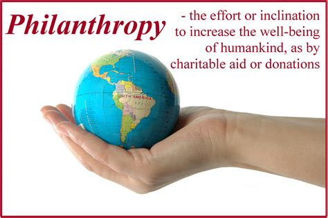 A Philanthropist philanthropy d h gould company