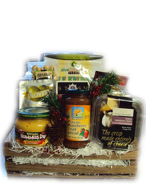 diabetic healthy christmas gift basket