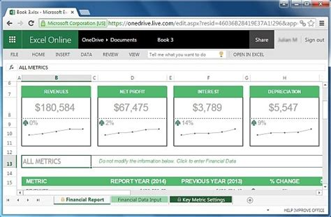 annual financial report template helloalive