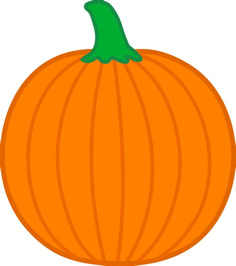 free pumpkin clipart simple orange pumpkin free clip
