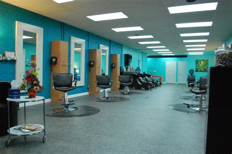 color hair salon the color scheme could be for a salon with